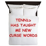 i love tennis Queen Duvet