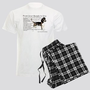 A Beagle's letter to you Pajamas