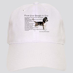 A Beagle's letter to you Baseball Cap