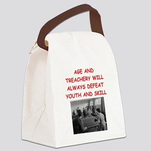 i loce table tennis Canvas Lunch Bag