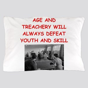 i loce table tennis Pillow Case