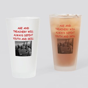 i loce table tennis Drinking Glass