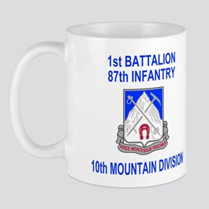 87th Infantry Regiment <br>1st Bn Coffee Cup