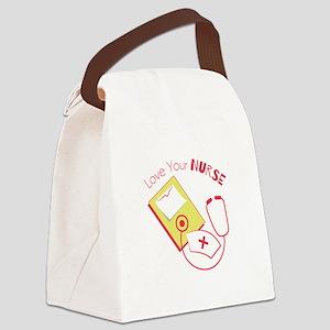 Love Your Nurse Canvas Lunch Bag