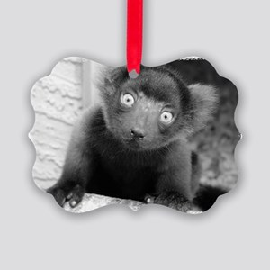 'afo', Red Ruffed Lemur Infant Picture Ornament