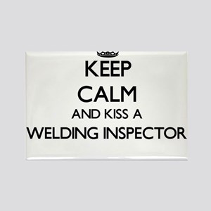 Keep calm and kiss a Welding Inspector Magnets
