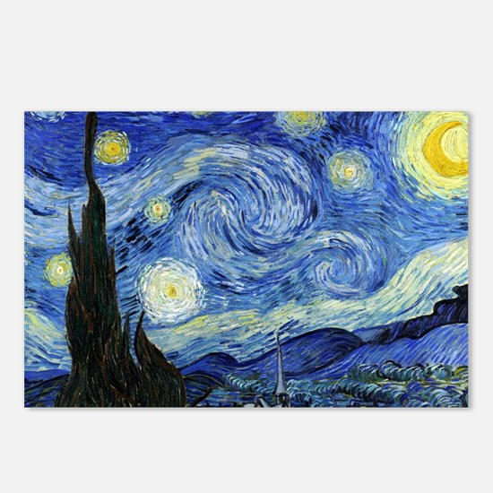 Starry Night by Vincent van Gogh Postcards (Packag