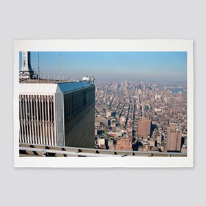 Twin towers - World trade center New York 1987 5'x