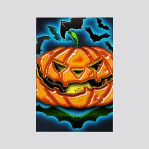 Halloween by Bluesax Rectangle Magnet