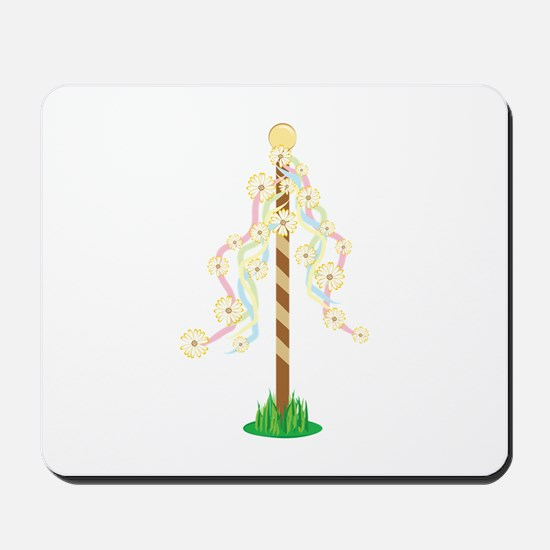 May Pole Mousepad