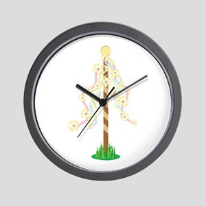 May Pole Wall Clock