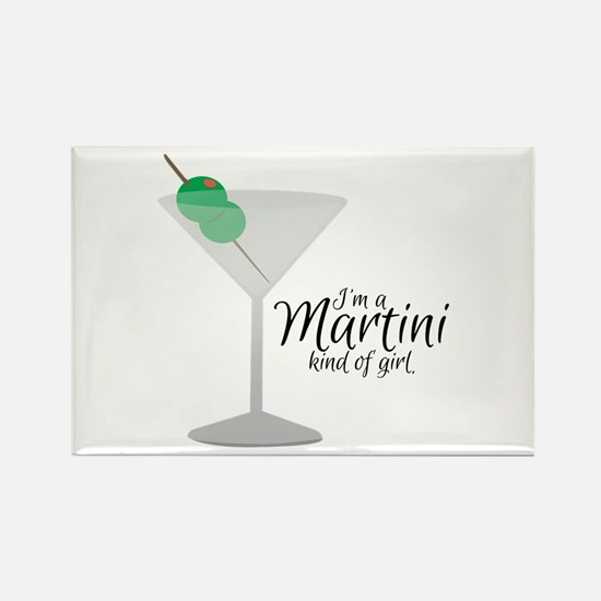 Martini Girl Magnets