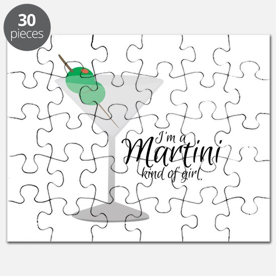 Martini Girl Puzzle