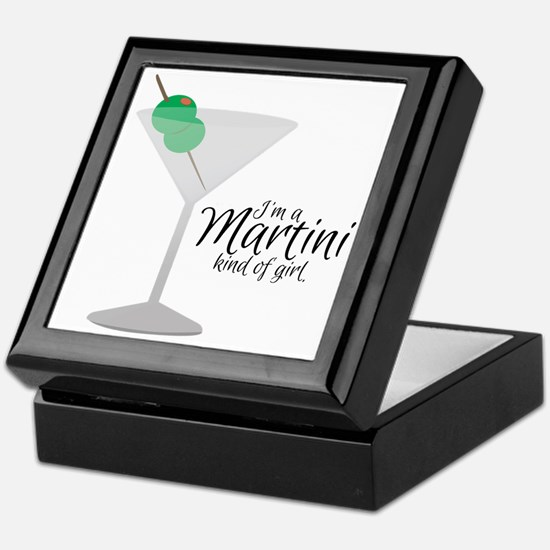 Martini Girl Keepsake Box