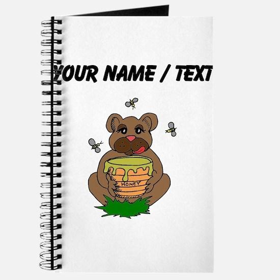 Custom Bear And Honey Journal