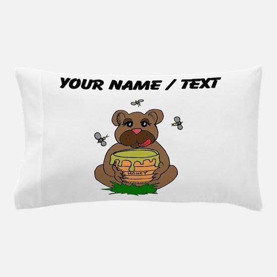 Custom Bear And Honey Pillow Case