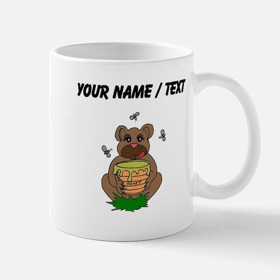 Custom Bear And Honey Mugs