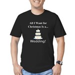 Christmas Wedding Men's Fitted T-Shirt (dark)