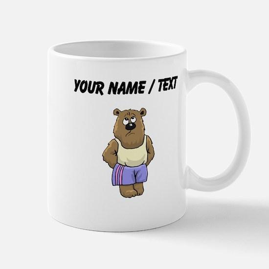 Custom Cartoon Bear Mugs