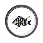 Sheepshead porgy Wall Clock
