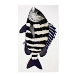 Sheepshead porgy Area Rug