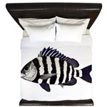 Sheepshead porgy King Duvet