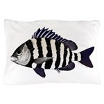 Sheepshead porgy Pillow Case