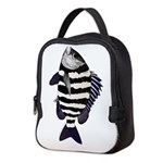 Sheepshead porgy Neoprene Lunch Bag
