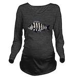 Sheepshead porgy Long Sleeve Maternity T-Shirt