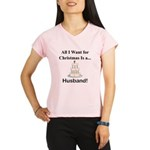 Christmas Husband Performance Dry T-Shirt