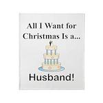 Christmas Husband Throw Blanket