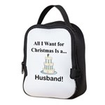 Christmas Husband Neoprene Lunch Bag