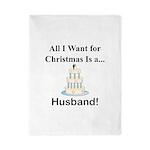 Christmas Husband Twin Duvet