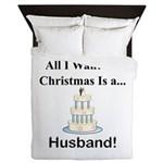 Christmas Husband Queen Duvet