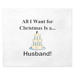 Christmas Husband King Duvet