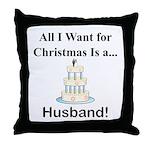 Christmas Husband Throw Pillow