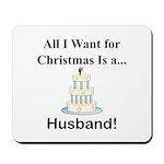 Christmas Husband Mousepad
