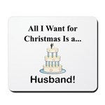 Christmas Husband Mousepad