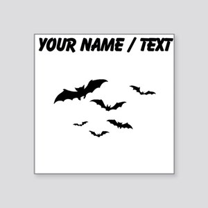 Custom Bats Flying Sticker