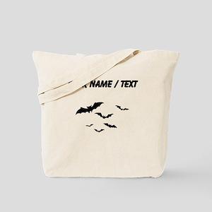 Custom Bats Flying Tote Bag