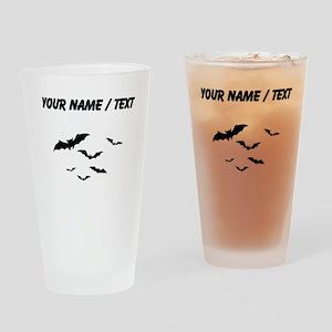 Custom Bats Flying Drinking Glass