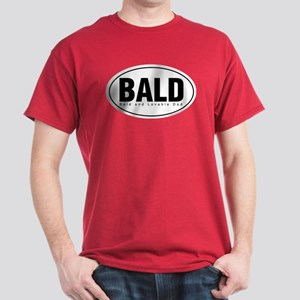 Bald and Lovable Dad Dark T-Shirt