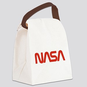 NASA Snake (worm) Canvas Lunch Bag