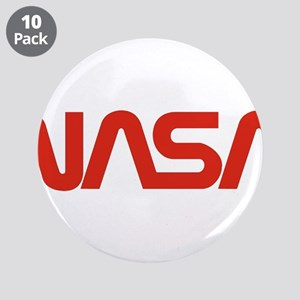 """NASA Snake (worm) 3.5"""" Button (10 pack)"""