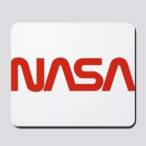 NASA Snake (worm) Mousepad