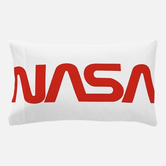 NASA Snake (worm) Pillow Case