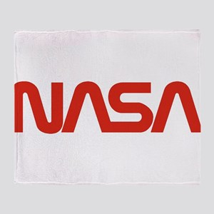 NASA Snake (worm) Throw Blanket