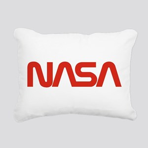 NASA Snake (worm) Rectangular Canvas Pillow