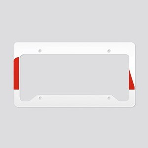 NASA Snake (worm) License Plate Holder