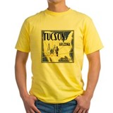 Tucson Mens Classic Yellow T-Shirts